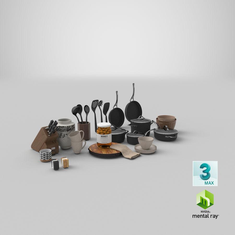 Mutfak Gereçleri 3 royalty-free 3d model - Preview no. 36