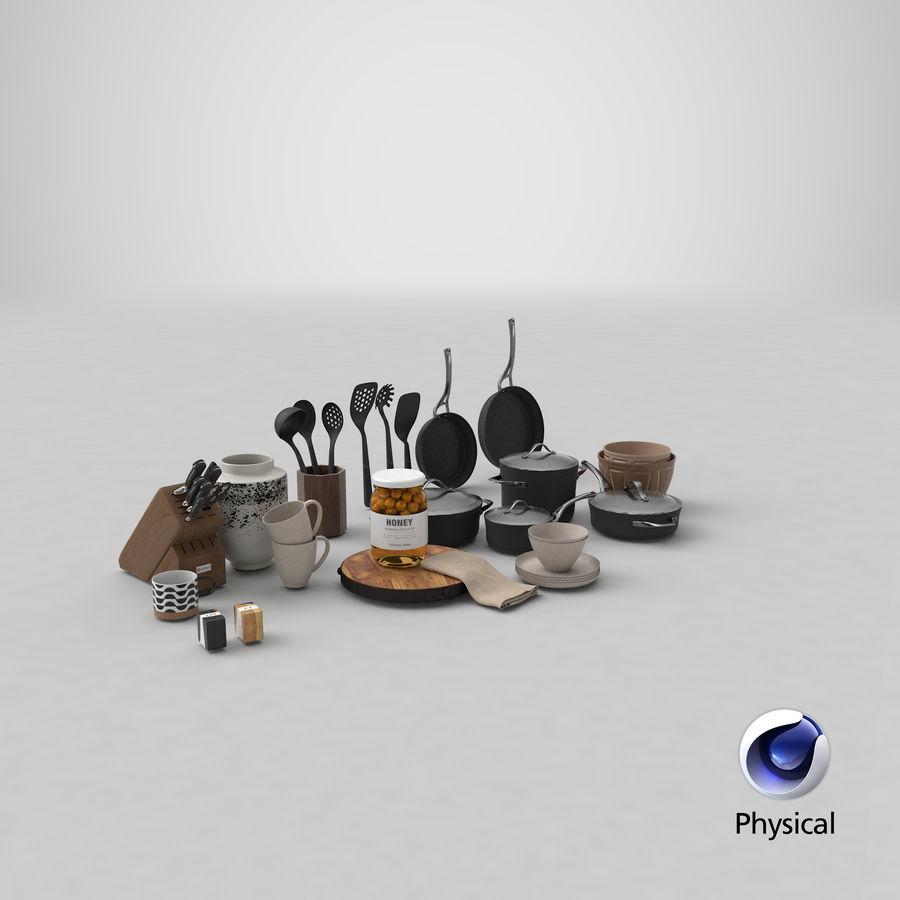 Mutfak Gereçleri 3 royalty-free 3d model - Preview no. 33