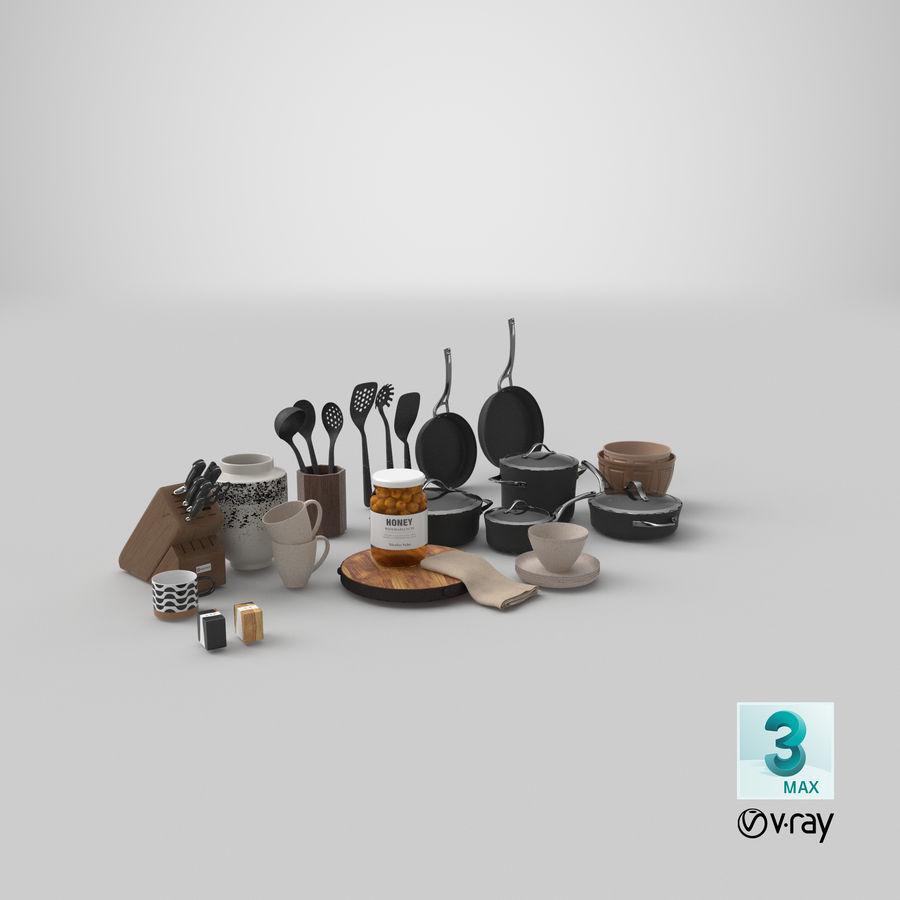 Mutfak Gereçleri 3 royalty-free 3d model - Preview no. 37