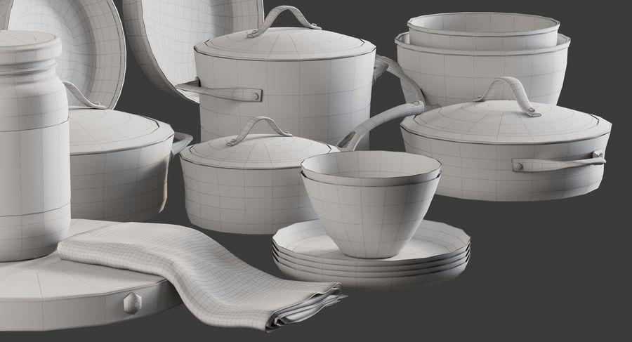 Mutfak Gereçleri 3 royalty-free 3d model - Preview no. 14