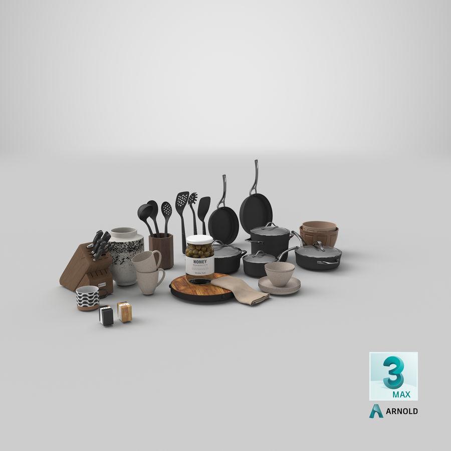 Mutfak Gereçleri 3 royalty-free 3d model - Preview no. 35