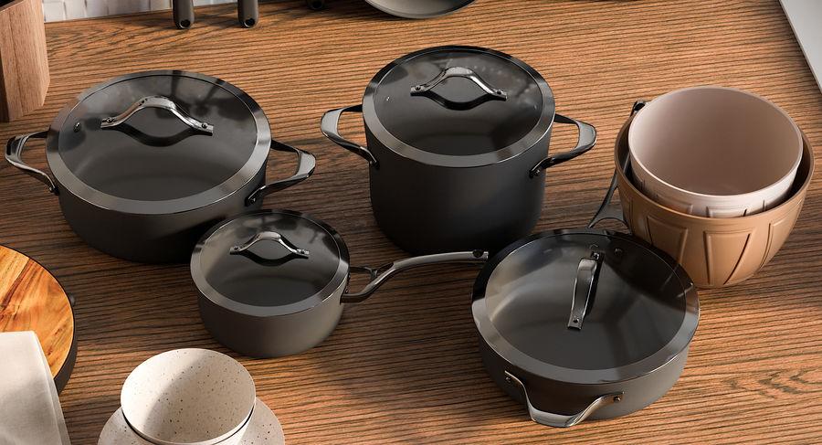 Mutfak Gereçleri 3 royalty-free 3d model - Preview no. 10
