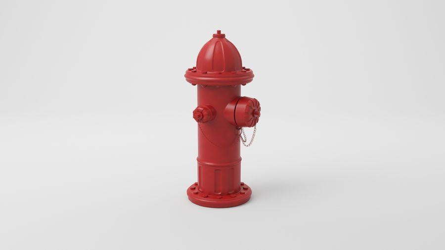 Пожарный кран royalty-free 3d model - Preview no. 6