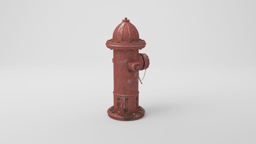 Пожарный кран royalty-free 3d model - Preview no. 18
