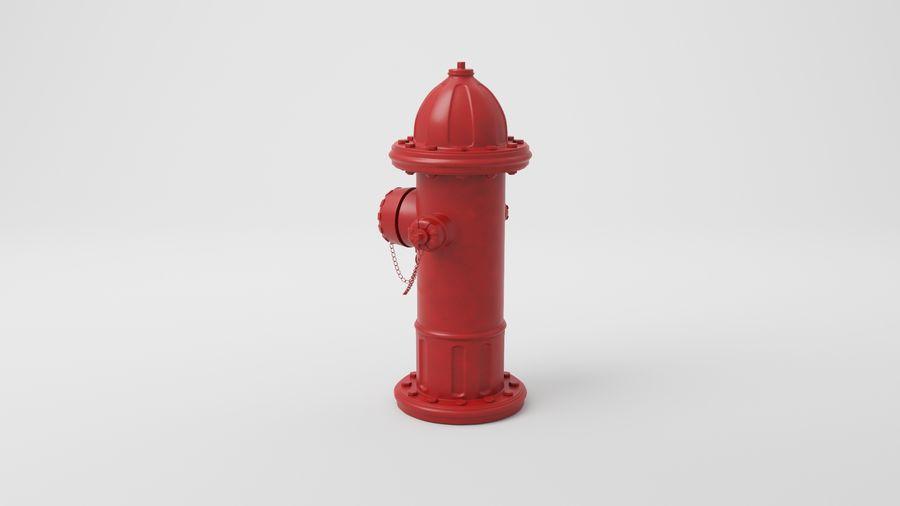 Пожарный кран royalty-free 3d model - Preview no. 12