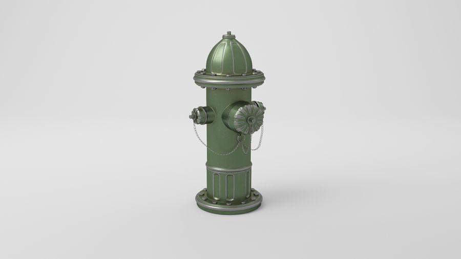 Пожарный кран royalty-free 3d model - Preview no. 19