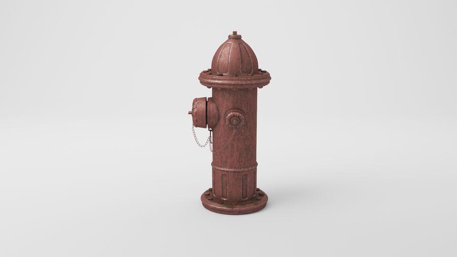 Пожарный кран royalty-free 3d model - Preview no. 21