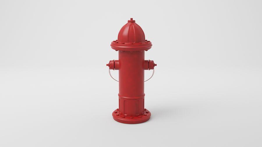 Пожарный кран royalty-free 3d model - Preview no. 9