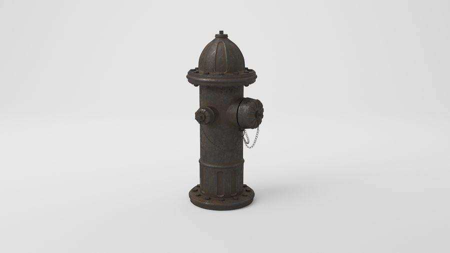 Пожарный кран royalty-free 3d model - Preview no. 15