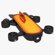 Underwater Drone UWD 3d model