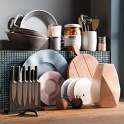厨房配件5 3d model