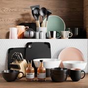 Küchenzubehör 6 3d model