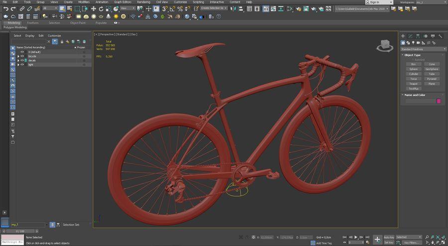 Road Bike royalty-free 3d model - Preview no. 18