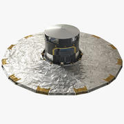 Gaia ESA Space Observatory 3d model