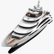 Бриллианты - это вечная яхта 3d model
