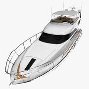 Princes 64 Yacht Low Poly 3d model