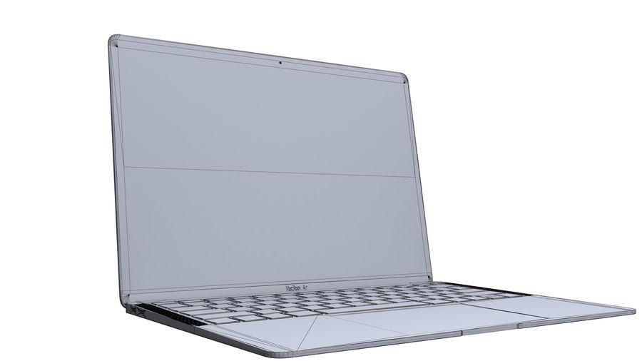 苹果MacBook Air 13英寸和MacBook Pro 15英寸A1707 royalty-free 3d model - Preview no. 12