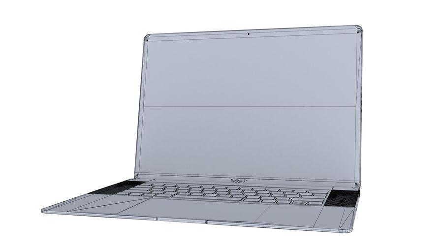 苹果MacBook Air 13英寸和MacBook Pro 15英寸A1707 royalty-free 3d model - Preview no. 29