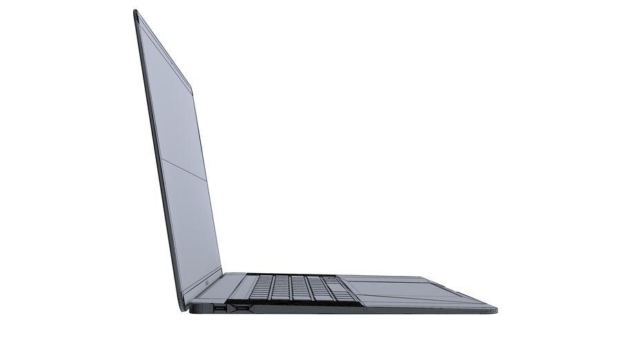 苹果MacBook Air 13英寸和MacBook Pro 15英寸A1707 royalty-free 3d model - Preview no. 31