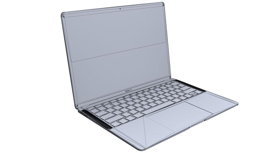 苹果MacBook Air 13英寸和MacBook Pro 15英寸A1707 royalty-free 3d model - Preview no. 15
