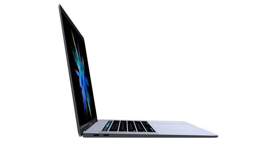 苹果MacBook Air 13英寸和MacBook Pro 15英寸A1707 royalty-free 3d model - Preview no. 26