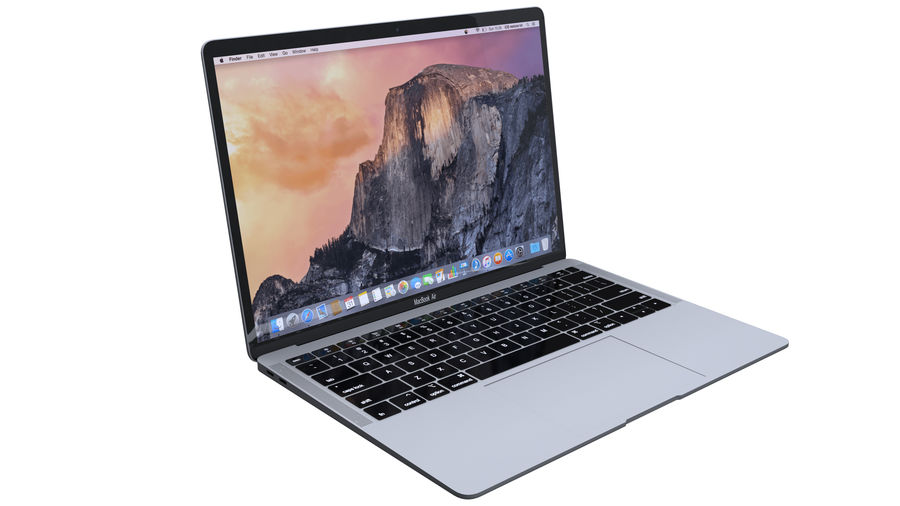 苹果MacBook Air 13英寸和MacBook Pro 15英寸A1707 royalty-free 3d model - Preview no. 3