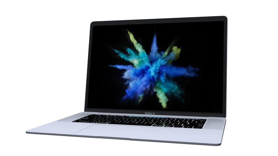 苹果MacBook Air 13英寸和MacBook Pro 15英寸A1707 royalty-free 3d model - Preview no. 28