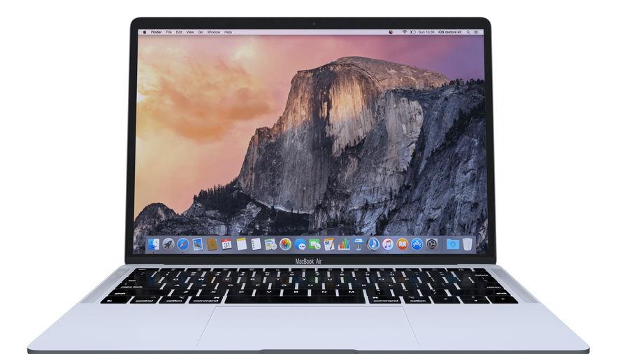 苹果MacBook Air 13英寸和MacBook Pro 15英寸A1707 royalty-free 3d model - Preview no. 7