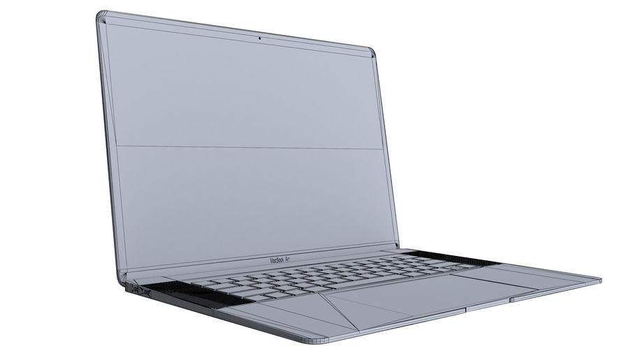 苹果MacBook Air 13英寸和MacBook Pro 15英寸A1707 royalty-free 3d model - Preview no. 32