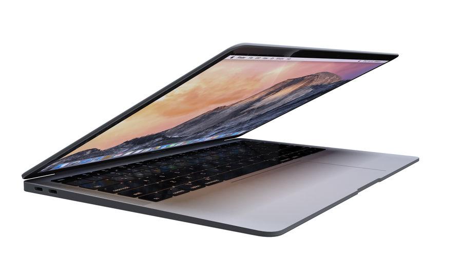苹果MacBook Air 13英寸和MacBook Pro 15英寸A1707 royalty-free 3d model - Preview no. 10