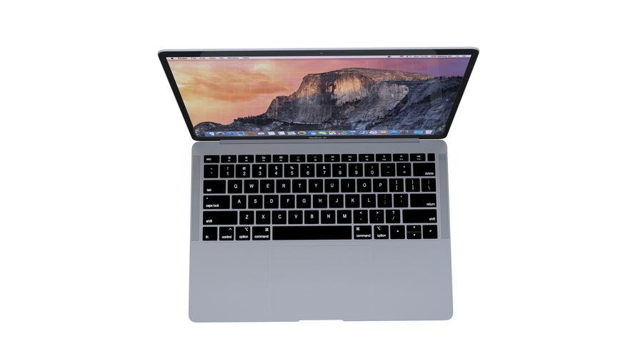 苹果MacBook Air 13英寸和MacBook Pro 15英寸A1707 royalty-free 3d model - Preview no. 8