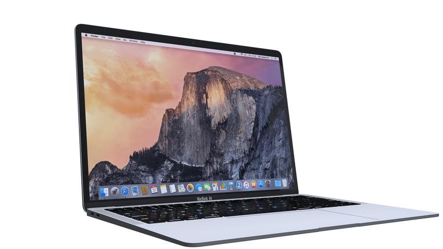 苹果MacBook Air 13英寸和MacBook Pro 15英寸A1707 royalty-free 3d model - Preview no. 11