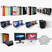 アップルエレクトロニクスコレクション2019-2020 3d model