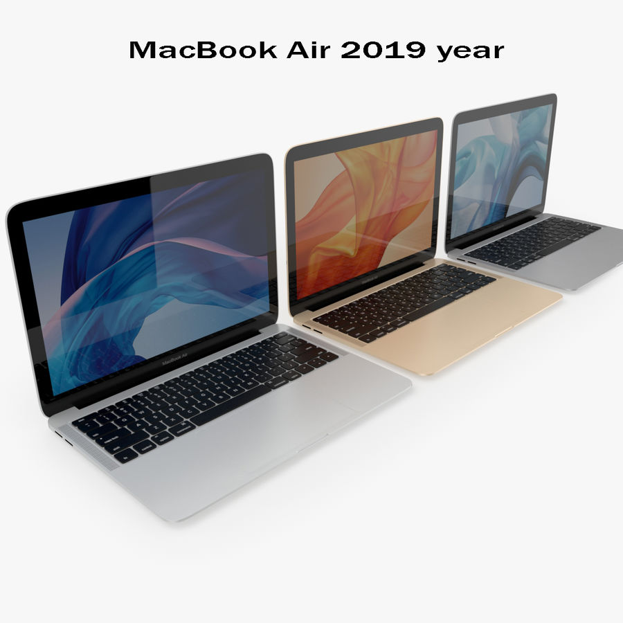 Apple Electronics Koleksiyon 2019-2020 royalty-free 3d model - Preview no. 132
