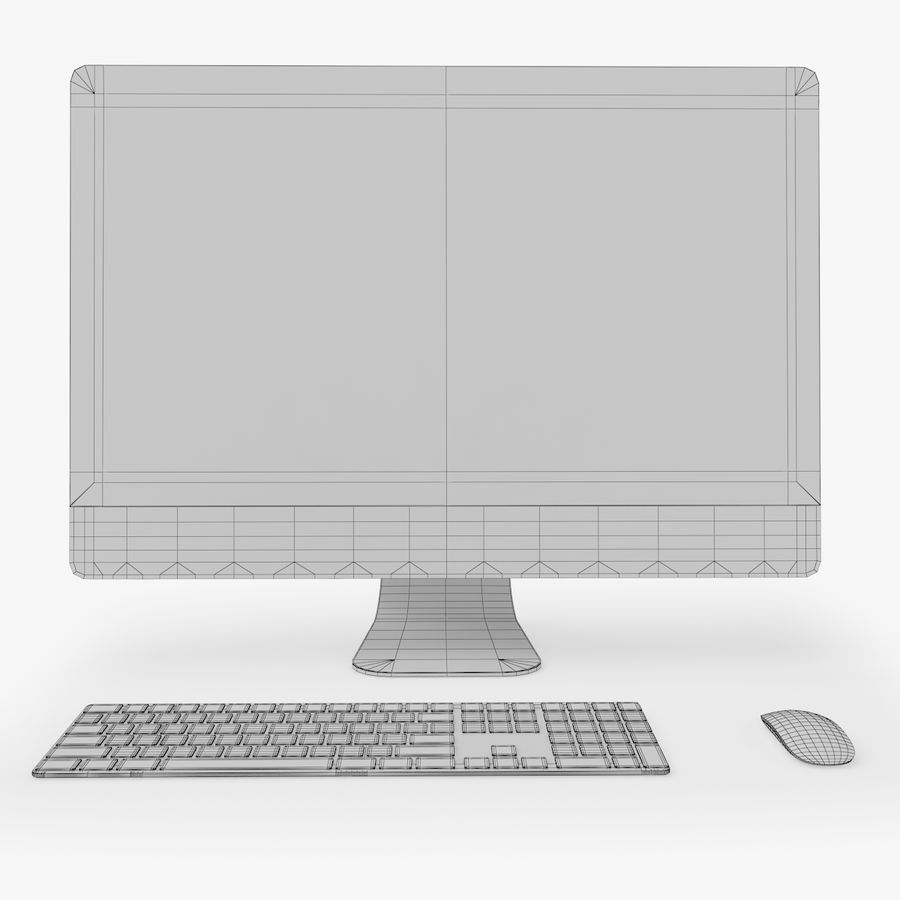 Apple Electronics Koleksiyon 2019-2020 royalty-free 3d model - Preview no. 82