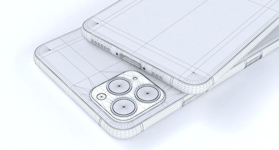 Apple Electronics Koleksiyon 2019-2020 royalty-free 3d model - Preview no. 57