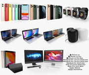 Apple Electronics Collection 2019-2020 3d model