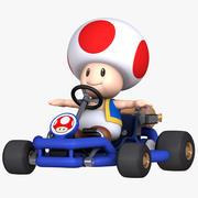 Mario Kart Tour - Toad Pipe Frame model 3d model