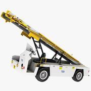 Tug 660 Aircraft Belt loader modelo 3d