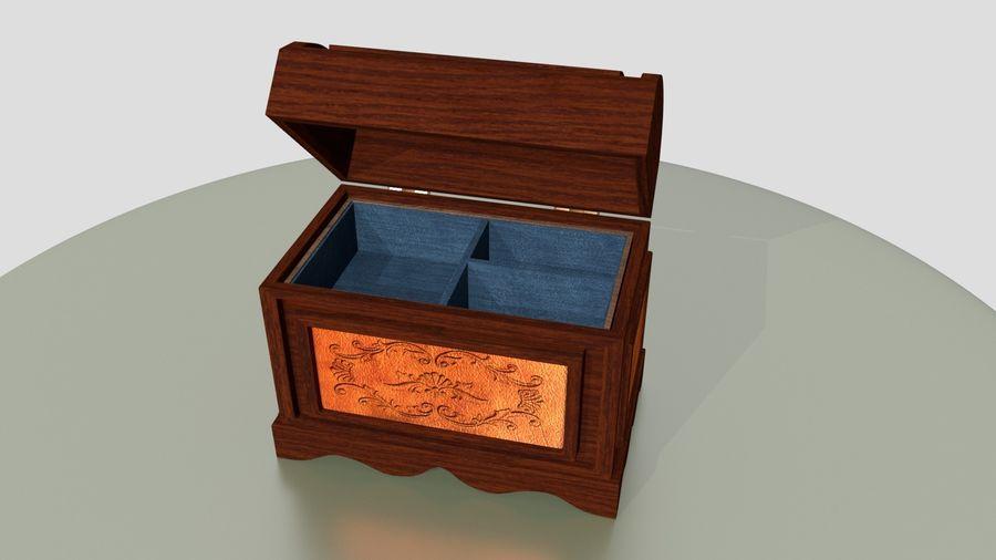 Scatola del petto royalty-free 3d model - Preview no. 2