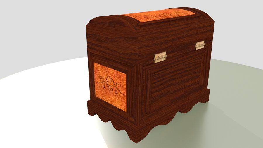 Scatola del petto royalty-free 3d model - Preview no. 9