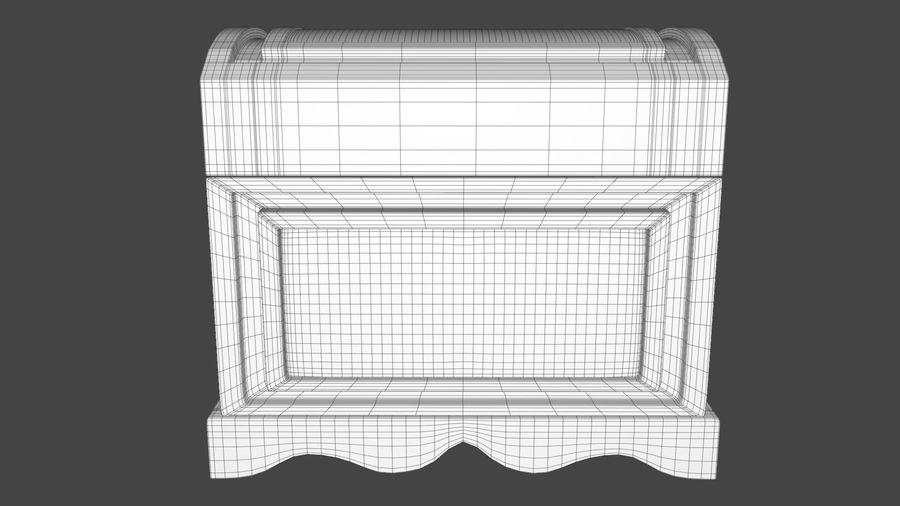 Scatola del petto royalty-free 3d model - Preview no. 11