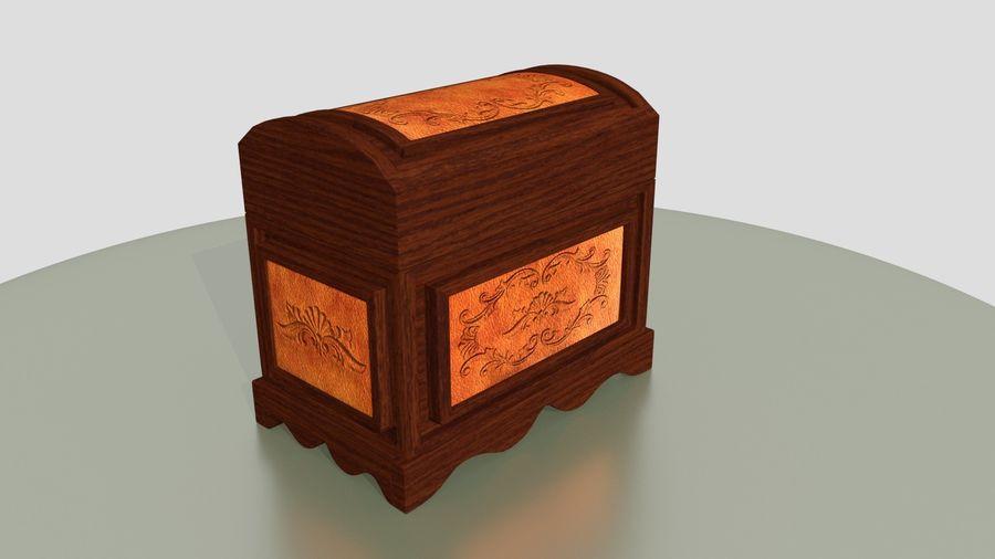 Scatola del petto royalty-free 3d model - Preview no. 5
