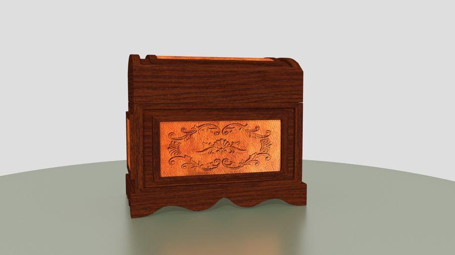 Scatola del petto royalty-free 3d model - Preview no. 6