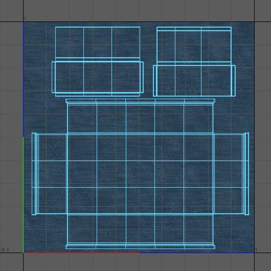 Scatola del petto royalty-free 3d model - Preview no. 24