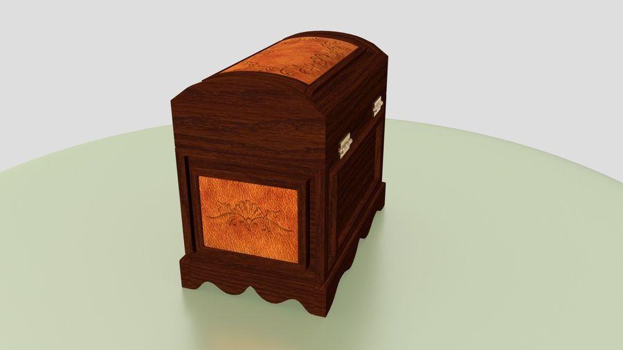 Scatola del petto royalty-free 3d model - Preview no. 4