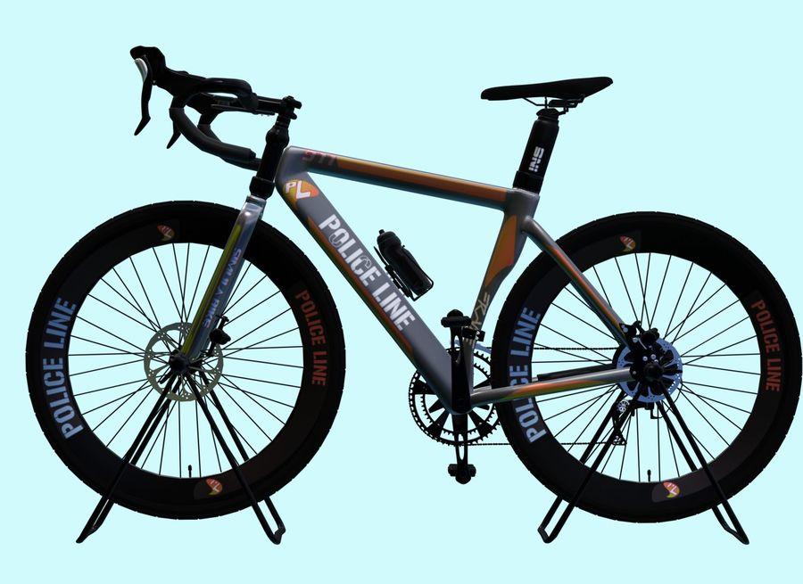 Bicyle Road Bike royalty-free 3d model - Preview no. 2