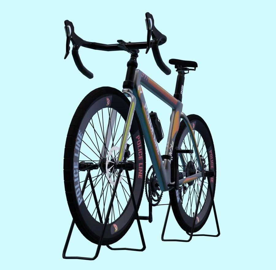 Bicyle Road Bike royalty-free 3d model - Preview no. 4