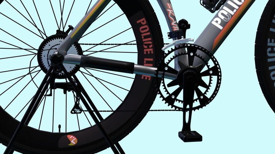 Bicyle Road Bike royalty-free 3d model - Preview no. 8