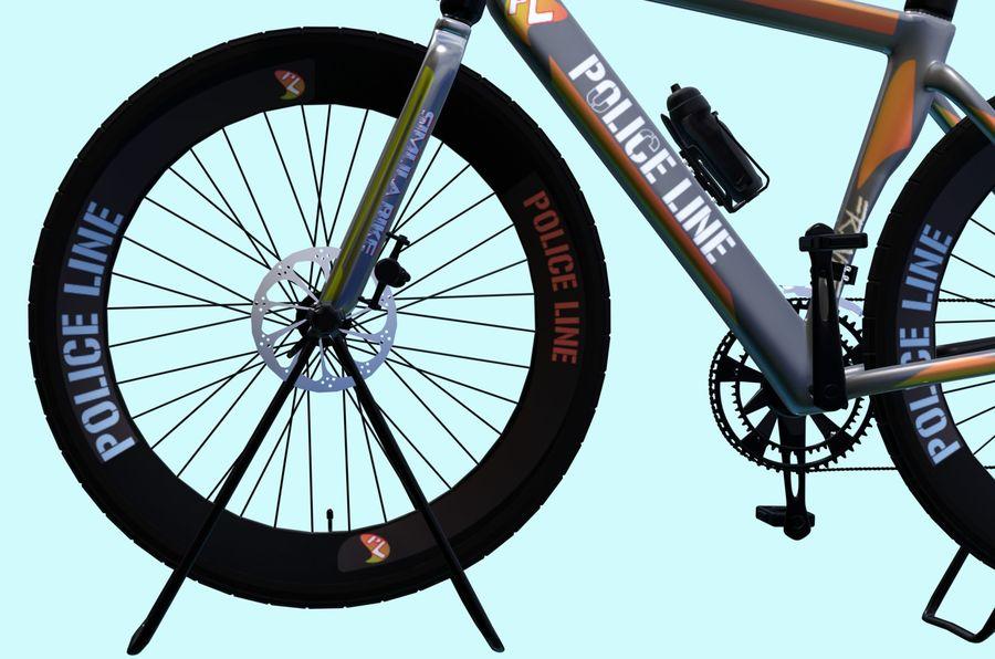 Bicyle Road Bike royalty-free 3d model - Preview no. 10